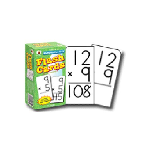 Frank Schaffer Publications/Carson Dellosa Publications Flash Cards Multiplication 0-12