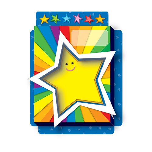 Frank Schaffer Publications/Carson Dellosa Publications Rainbow Stars Pop Its Pocket