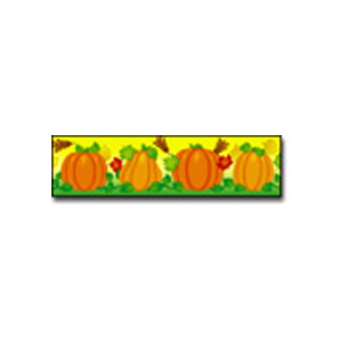 Frank Schaffer Publications/Carson Dellosa Publications Border Pumpkins Straight
