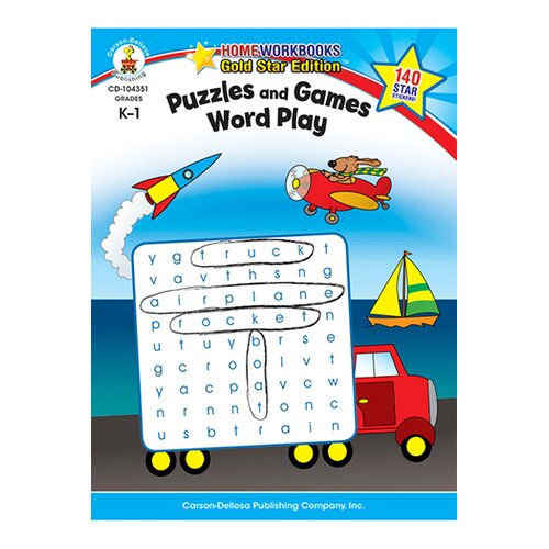 Frank Schaffer Publications/Carson Dellosa Publications Puzzles & Games Word Play Home