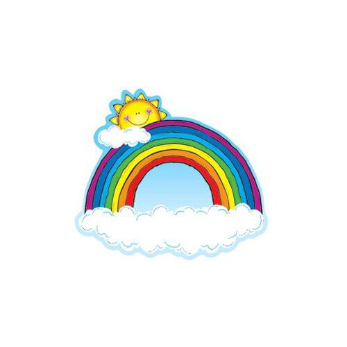 Frank Schaffer Publications/Carson Dellosa Publications Rainbow Two Sided Decorations