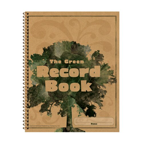 Frank Schaffer Publications/Carson Dellosa Publications The Green Record Book