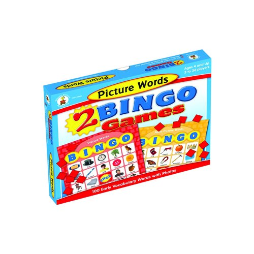 Frank Schaffer Publications/Carson Dellosa Publications Picture Words Bingo