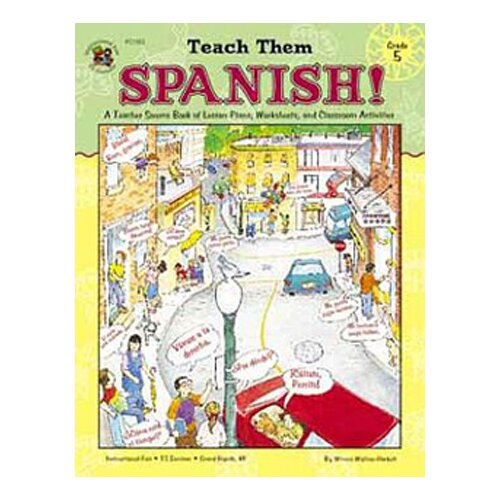 Frank Schaffer Publications/Carson Dellosa Publications Teach Them Spanish Gr 5
