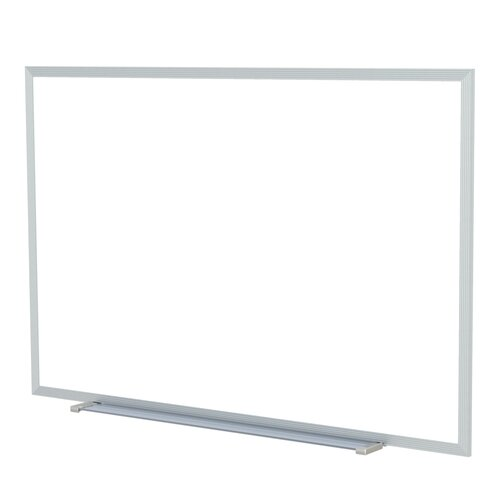 Ghent Aluminum Painted Steel Magnetic Whiteboard - Markers & Eraser