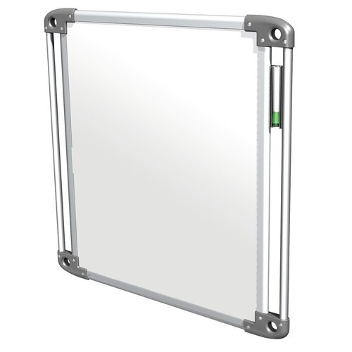 Ghent Nexus Tablet Double-Sided Portable Laminate Whiteboard - 1 Board - 1 Marker & Eraser