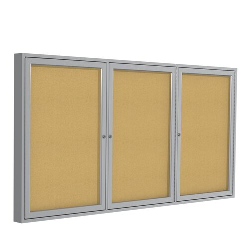 Zachar Display also Product 462336 as well 2306 Allure Mobile Cork Board moreover B001ENVIIK moreover Brigade Steel Storage Cabi s By Hon. on lockable bulletin boards