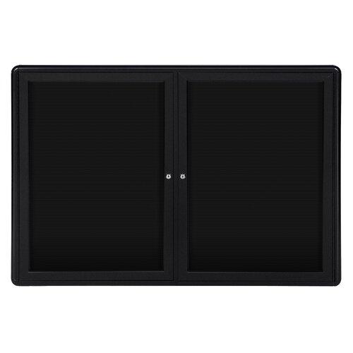 """Ghent 34"""" x 47"""" 2 Door Ovation Letterboard"""