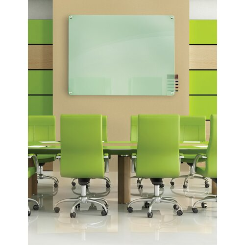 Ghent Harmony 4' x 4' Glass Board