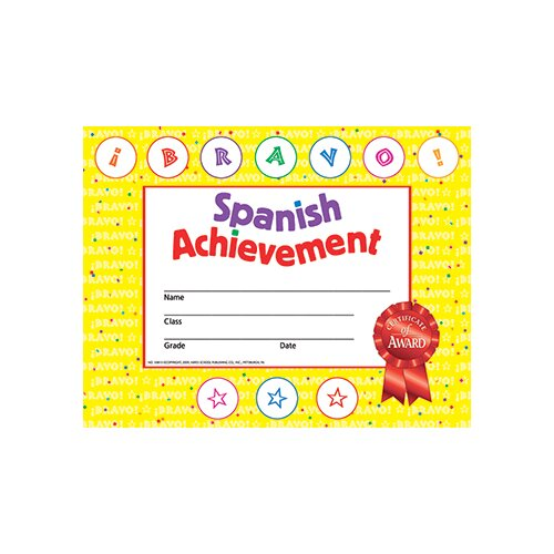 Hayes School Publishing Spanish Achievement 30/set