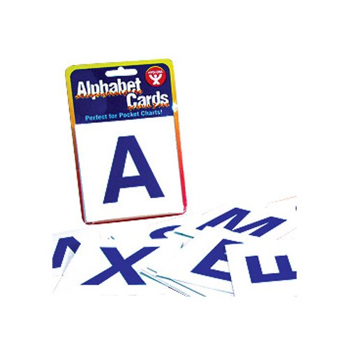 Hygloss Products Inc Alphabet Cards
