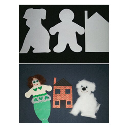 Hygloss Products Inc Big Cut-outs 16 House