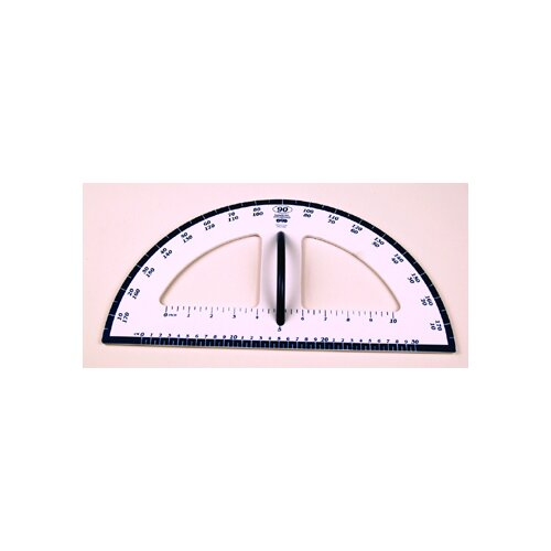 Learning Advantage Dry Erase Magnetic Protractor