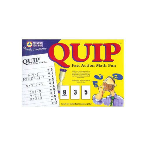 Learning Advantage Quip
