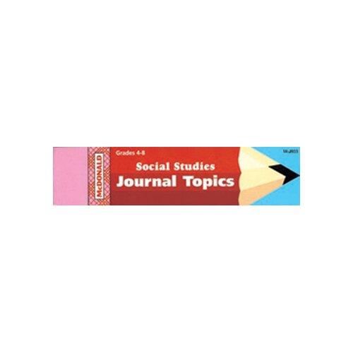 McDonald Publishing Journal Booklet Social Studies
