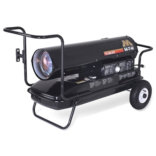 Mi-T-M 125,000 BTU Forced Air Utility Kerosene Portable Space Heater
