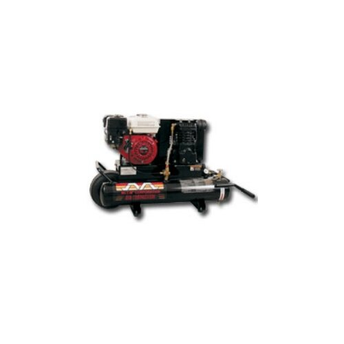 Mi-T-M 8 Gallon 5.5 Hp Honda 1 Stage 9.0 Cfm Air Compressor