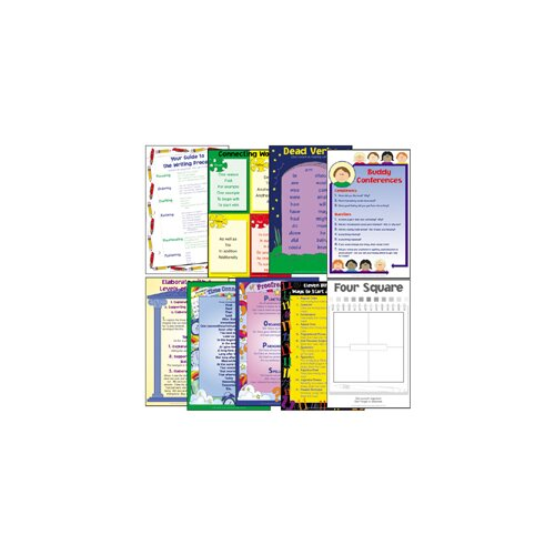 Milliken & Lorenz Educational Press Four Square Writing Method Charts