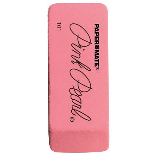 Newell Corporation Eraser Pink Pearl Med 1 Ea