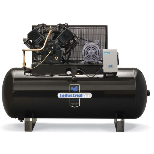 Powermate 120 Gallon Two Stage Cast Iron Industrial Air Compressor