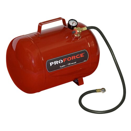 Powermate Proforce 5 Gallon Portable Air Tank