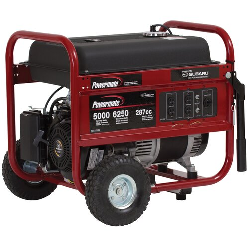 5000 Watt Gasoline Generator with Suburu EX30 Recoil Start