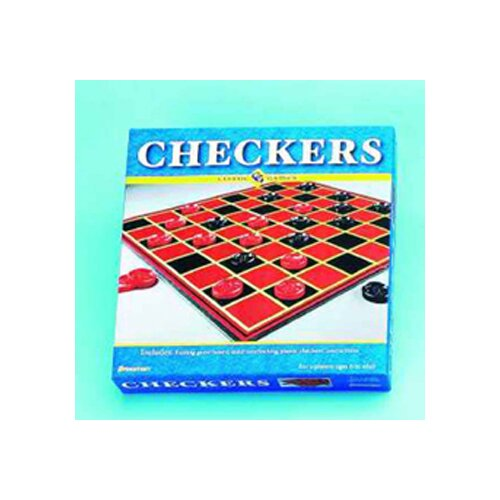 Pressman Toys Checkers Includes Checkers & Board