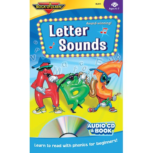 Rock N Learn Letter Sounds Cd + Book