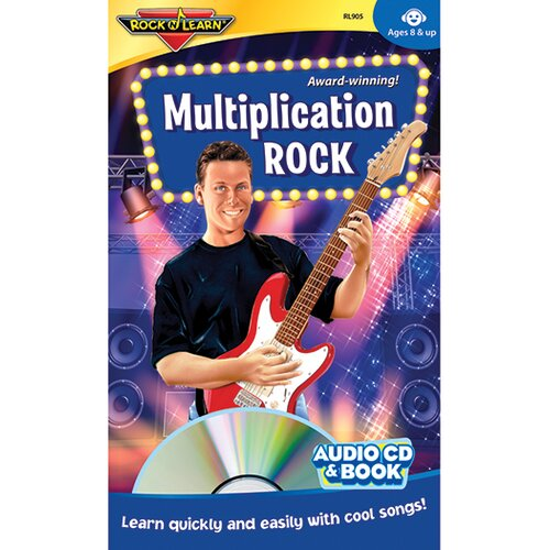 Rock N Learn Multiplication Rock Cd