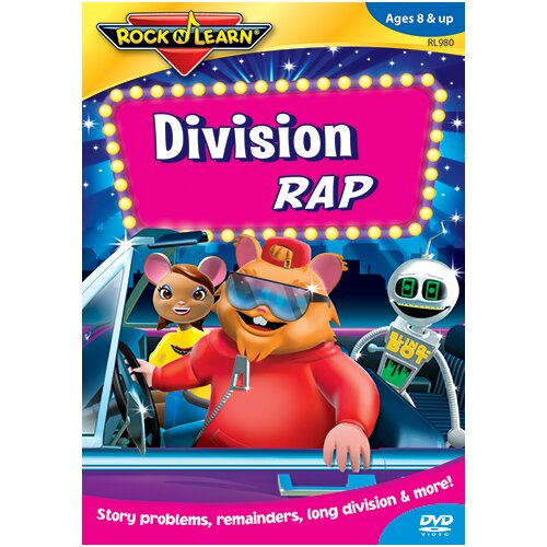 Rock N Learn Division Rad On Dvd
