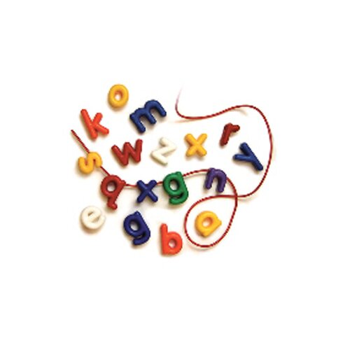 Roylco Inc Lowercase Manuscript Letter Beads