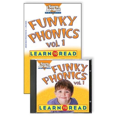Sarah Jordan Publishing Funky Phonics Learn To Read Vol 1