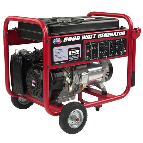All Power America 6,000 Watt Gasoline Generator