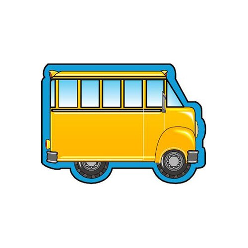 Shapes Etc. Mini Notepads School Bus