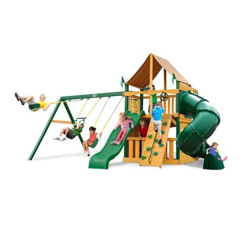 Mountaineer Clubhouse Supreme WG Cedar Swing Set