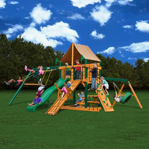 Gorilla Playsets Frontier Swing Set