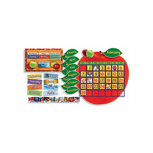 Teachers Friend Apple Photo Calendar Bb Set Gr Pk-5