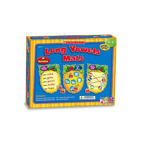 Teachers Friend Long Vowels Mats