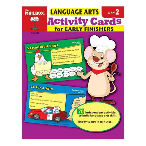 The Education Center Language Arts Activity Cards For