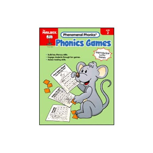 The Education Center Phonics Games Gr 2