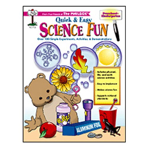 The Education Center Quick & Easy Science Fun Pre K-k