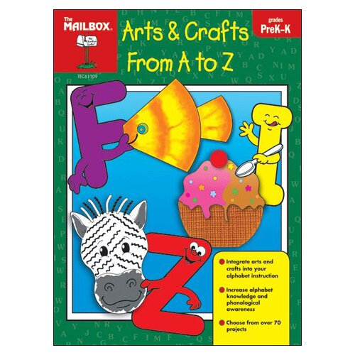The Education Center Arts Crafts From A To Z Prek-k