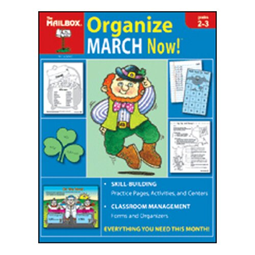The Education Center Organize March Now Gr 2-3