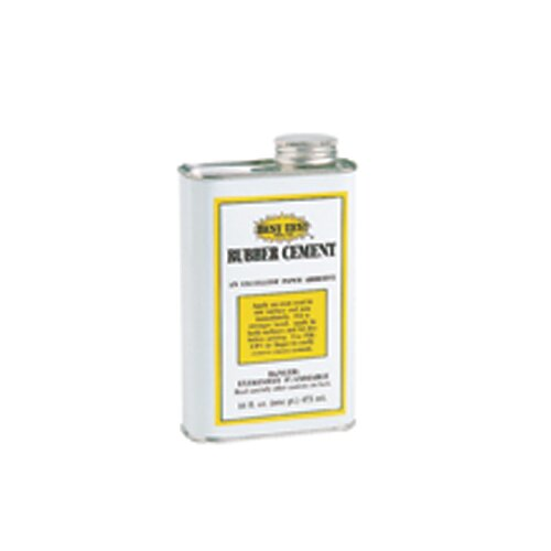Union Rubber Rubber Cement 16oz Can