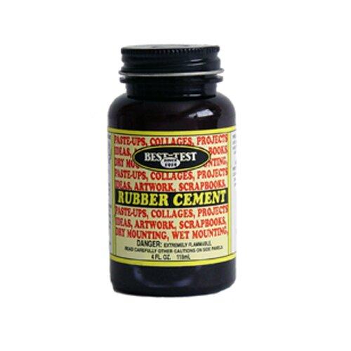 Union Rubber Rubber Cement 4oz