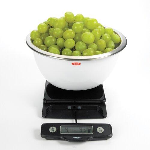OXO 5Lb Food Scale - Black