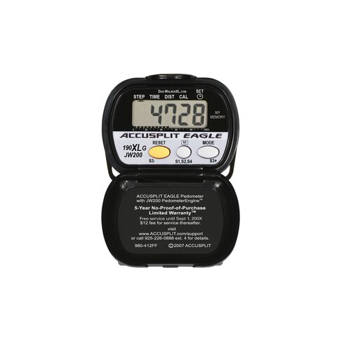 Accusplit Step Pedometer with Goal Tracking / Distance