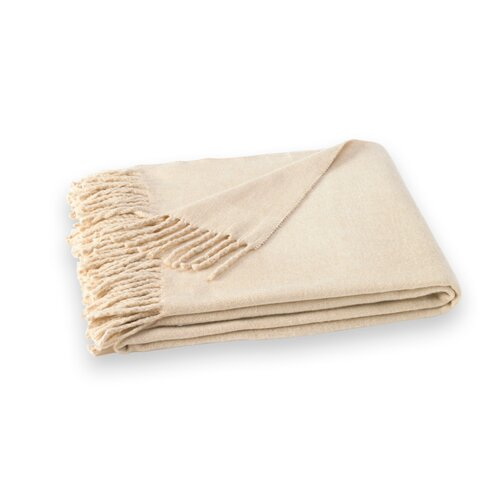 Lands Downunder Assiro Solid Cotton / Acrylic Throw