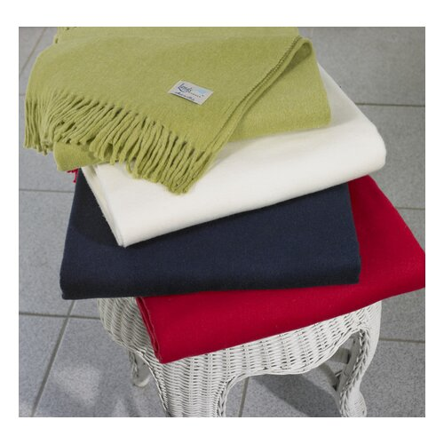 Assiro Solid Cotton / Acrylic Throw