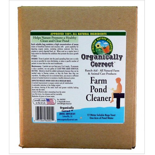 Organically Correct Farm Pond Cleaner (Pack of 12)